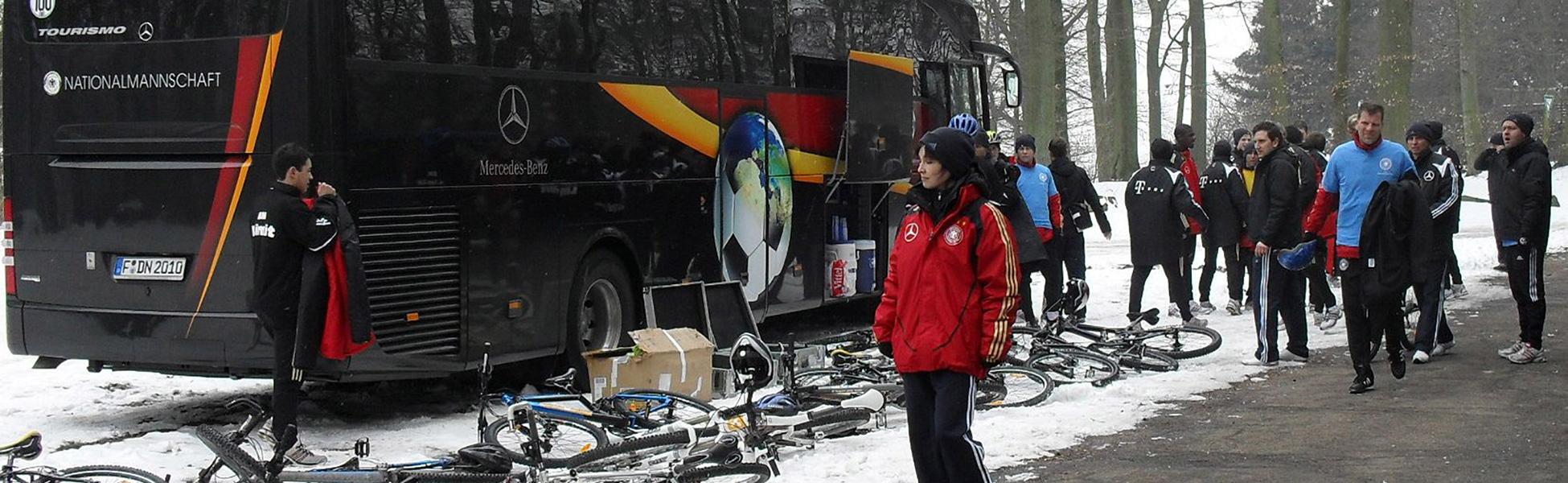 Radtour mit einem Verein