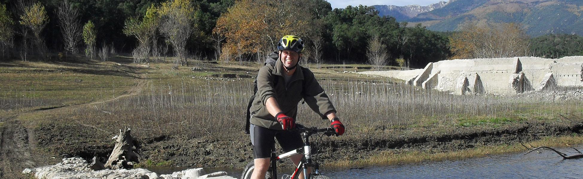 Mountainbiken mit Achim Kleist