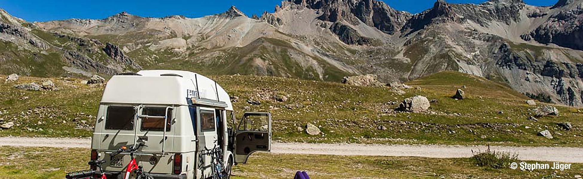 Radeln in den Alpen