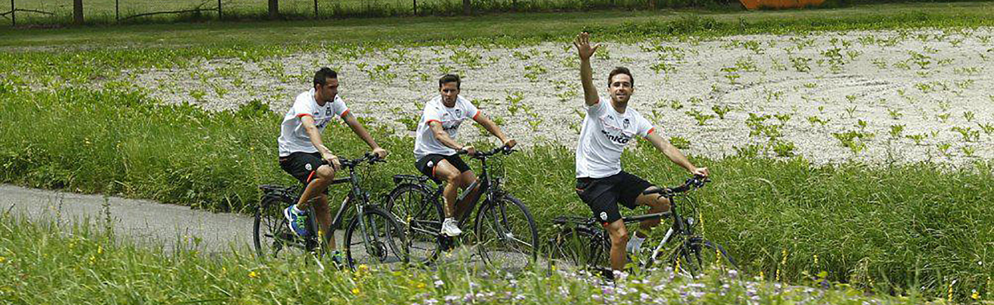Radtour mit dem FC Valencia