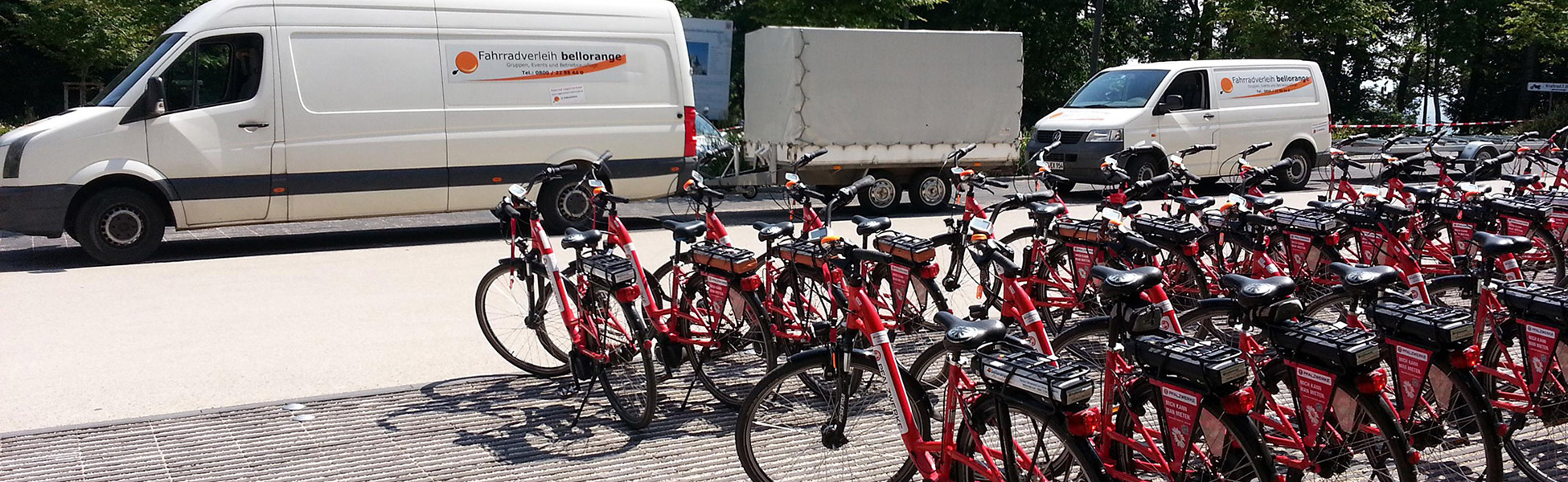 Leistungsfähige Logistik mit Rädern