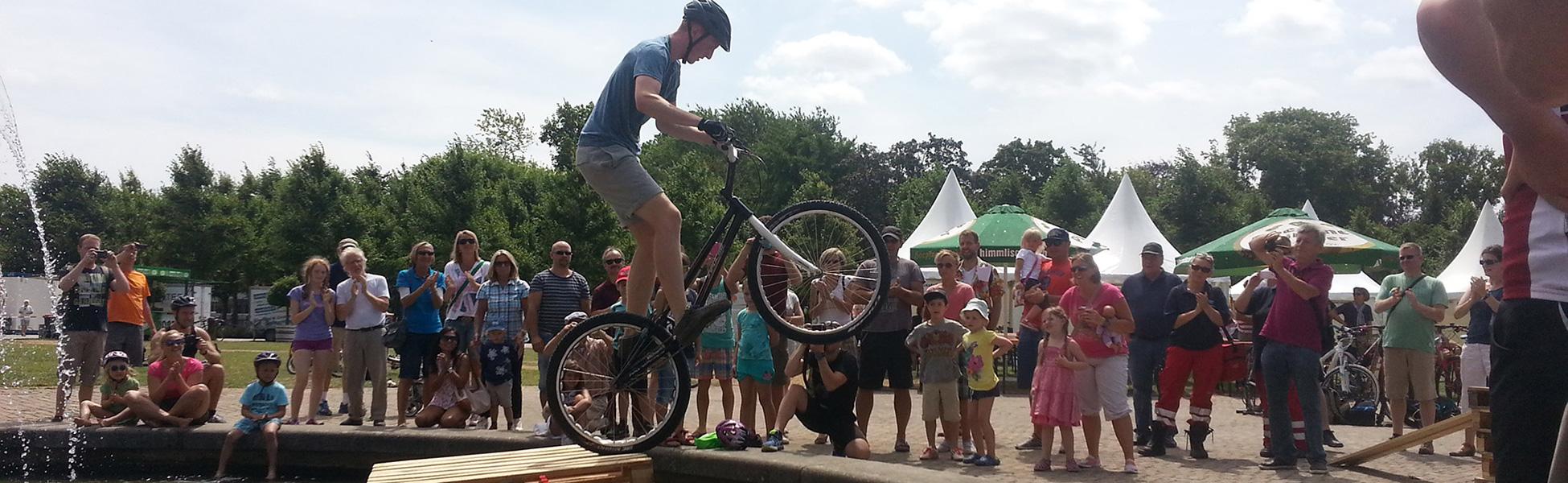 Stunts und Geschicklichkeit Events