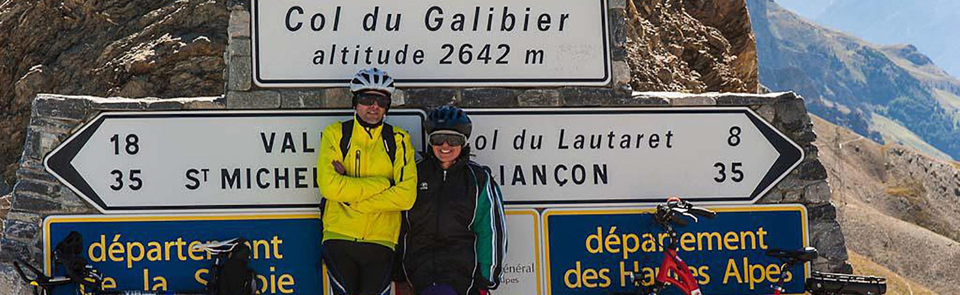 Über die Alpen mit dem Mietrad - c . Jäger
