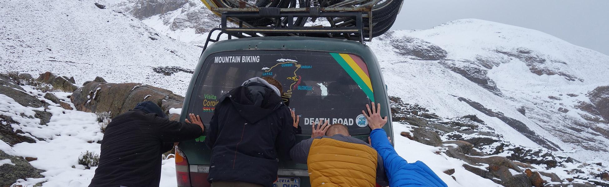 Downhill fahren in